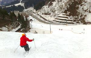 春スキー平日コブ特訓